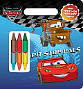 Pit-Stop Pals (Disney/Pixar Cars) (Write-On/Wipe-Off Activity Book)