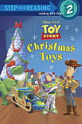 Christmas Toys (Disney/Pixar Toy Story) (Step Into Reading - Level 2 - Quality) Cover