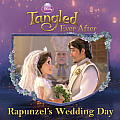 Disney Princess: Tangled Ever After: Rapunzel's Wedding Day (Disney Princess 8x8) Cover