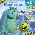Meet the Monsters (Disney/Pixar Monsters Inc.) (3-D Pictureback)