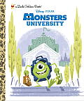Monsters University Little Golden Book (Disney/Pixar Monsters University) (Little Golden Book)