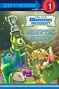 Monster Games Step Into Reading Book Disney Pixar Monsters University