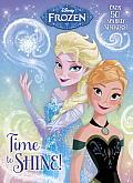 Time to Shine! (Disney Princess) (Hologramatic Sticker Book)