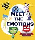 Inside Out Meet the Emotions Board Book Disney Pixar Inside Out