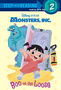Boo on the Loose (Disney/Pixar Monsters, Inc.) (Step Into Reading - Level 2 - Library)