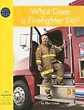 What Does a Firefighter Do (Yellow Umbrella Books for Early Readers)