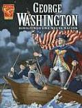 George Washington Leading a New Nation (Graphic Biographies Spanish)
