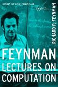 Feynman Lectures on Computation (96 Edition) Cover