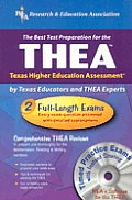 Thea (Rea) - The Best Test Prep for the Texas Higher Education Assessment with CDROM (Regional & Special School Exams)