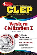 CLEP Western Civilization I The Best Test Preparation for the CLEP With CDROM