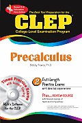 CLEP Precalculus with CDROM (CLEP)