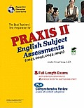 Praxis II English Subject Assessments 0041 0042 0043 0049 Rea With CDROM