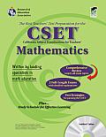 CA Cset Mathematics W/CD (Rea) - The Best Teachers' Test Prep for the Cset