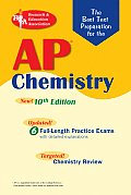 AP Chemistry (Rea) - The Best Test Prep for: 10th Edition (Test Preps)