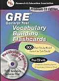 GRE Vocabulary Flashcard Book W/CD-ROM (Rea) (Flash Card Books)