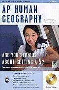 AP Human Geography W/ CD-ROM (Rea)