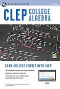 CLEP College Algebra W/ Online Practice Exams (CLEP)