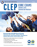 CLEP Core Exams W/ Online Practice Tests, 8th Ed. (CLEP Test Preparation)