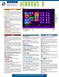 Quick Access Windows 8 (Quick Access Reference Charts)