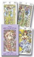 Ls Art Nouveau Mini Tarot