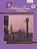 26 Italian Songs & Arias An Authoritative Edition Based on Authentic Sources Medium High Voice With CD