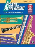 Accent on Achievement B Flat Trumpet Book 1 With CD