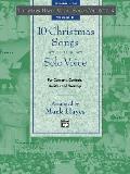 10 Christmas Songs for Medium High Voice