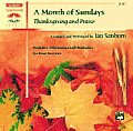 A Month of Sundays: Thanksgiving and Praise