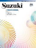 Suzuki Violin School Violin Part Volume 1 with CD Audio