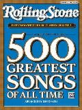 Rolling Stone Easy Piano Sheet Music Classics, Vol 2: 34 Selections from the 500 Greatest Songs of All Time Cover
