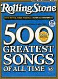 Selections from Rolling Stone Magazine's 500 Greatest Songs of All Time (Instrumental Solos), Vol 2: Piano Acc., Book & CD