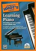 The Complete Idiot's Guide to Learning Piano: Everything You Need to Know to Start Playing Now!, CD-ROM with UV Coating Cover