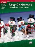 Easy Christmas Instrumental Solos, Trombone, Level 1 [With CD (Audio)]
