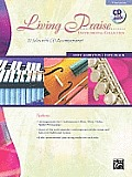 Living Praise Instrumental Collection: C Instruments (Flute, Oboe, Violin, Mallet Percussion), Book & CD