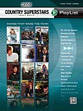 2009 Country Superstars Sheet Music Playlis: Piano/Vocal/Chords (Sheet Music Playlist)