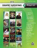 2010 Country Superstars Sheet Music Playlis: Songs That Made the Year!(piano/Vocal/Guitar) (Sheet Music Playlist)