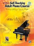 Alfred's Self-Teaching Adult Piano Course: The New, Easy and Fun Way to Teach Yourself to Play, Book, CD & DVD