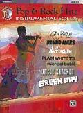 Today's Pop & Rock Hits Instrumental Solos: Trombone, Book & CD (Pop Instrumental Solo)