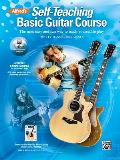 Alfreds Self Teaching Basic Guitar Course The New Easy & Fun Way to Teach Yourself to Play Book CD & DVD