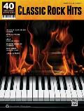 40 Sheet Music Bestsellers -- Classic Rock: Piano/Vocal/Guitar (40 Sheet Music Bestsellers)