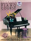 Alfred's Basic Adult Piano Course Lesson Book, Bk 1: Book & DVD (Alfred's Basic Adult Piano Course)