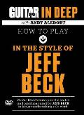 How to Play in the Style of Jeff Beck