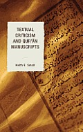 Textual Criticism and Qur'an Manuscripts Cover