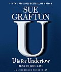 U Is for Undertow (Abridged) Cover