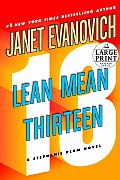 Lean Mean Thirteen (Large Print) (Stephanie Plum Novels) Cover