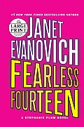 Fearless Fourteen (Large Print) (Stephanie Plum Novels) Cover