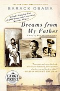 Dreams from My Father: A Story of Race and Inheritance (Large Print)