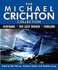 The Michael Crichton Collection: Airframe, the Lost World, and Timeline (Abridged) Cover
