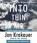 Into Thin Air: A Personal Account of the Mt. Everest Disaster Cover