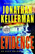 Evidence (Large Print) (Alex Delaware Novels) Cover
